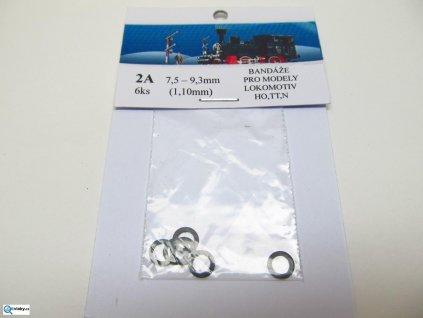 350470 2a bandaze 7 5 9 3 mm sirka 1 10 mm 6ks