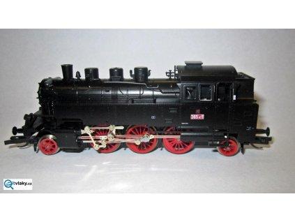 TT - parní lokomotiva řady 365 411 /BR64/ ČSD / Schirmer 30211
