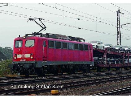 TT - elektrická lokomotiva 140 DB červená / Kuehn 31220
