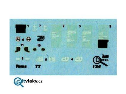 TT - obtisky vozu Tams / DETAIL 3124
