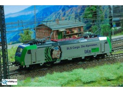 TT - elektrická lokomotiva BR485 Alpinisten BLS Cargo / Kuehn 32330