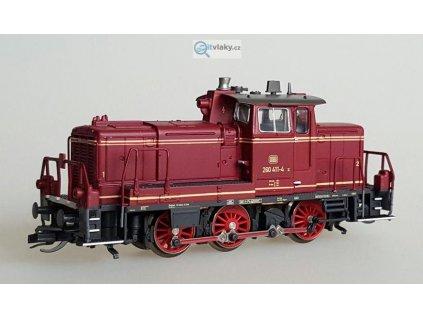 ARCHIV TT - lokomotiva řady 260/360 červená starší verze / Kuehn 32610