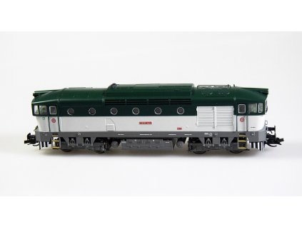 TT - Lokomotiva T478.3001 ČSD Brejlovec zeleno-bílý / KUEHN 33380