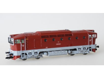 TT - Lokomotiva T478.3001 ČSD Brejlovec červený / KUEHN 33382