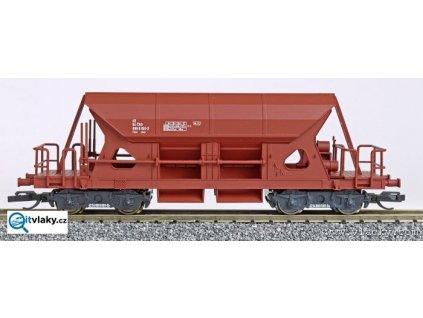 TT - výsypný hnědý vůz Faccs, ČSD /   LOCO 3501.2