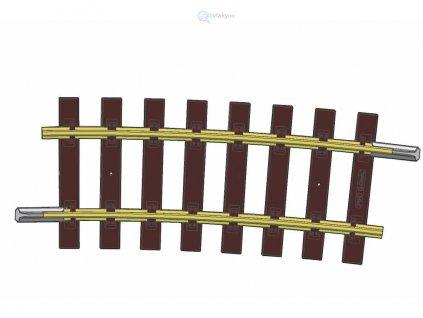 G - Oblouková kolej R7, 7,5° / Piko 35218