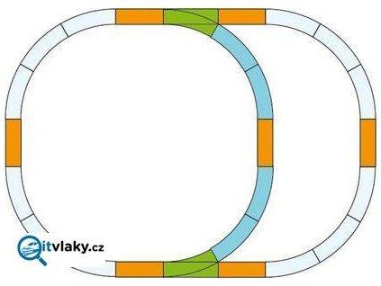 G - Rozšiřující set kolejí / Piko 35302