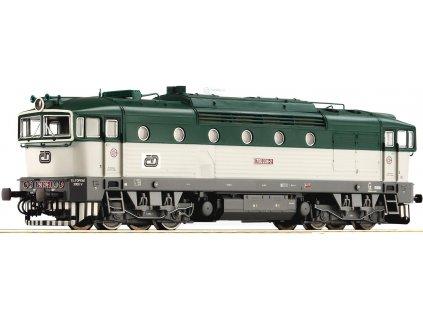 Vyprodáno TT  lokomotiva 750 Brejlovec , ČD / 36260 ROCO
