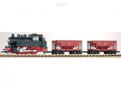 G - Start set nákladní vlak parní lokomotiva BR 80 DB/ Piko 37100
