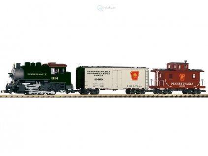 """G - Start set """"Pennsylvania"""" nákladní vlak / Piko 37103"""
