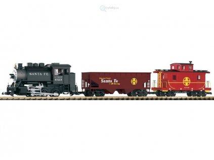 """G - Start set """"Santa Fe"""" nákladní vlak / Piko 37104"""