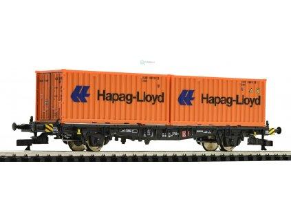 Vyprodáno TT - Kontejnerový vůz Hapag Lloyd, DB AG / ROCO 37514