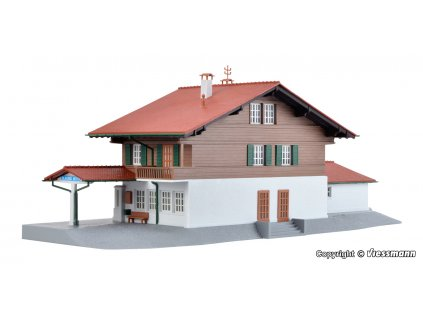 H0 - Nádraží 'Blausee Mitholz' / Kibri 39508