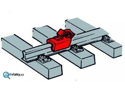 H0 - brzdící zarážky pro vozy - 12 ks / ROCO 40004