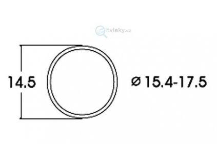 H0 - bandáže 15,4 - 17,5 mm, 10ks / ROCO 40076