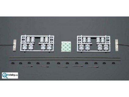 H0 - orig. osvětlení do os. vozů - žárovky / ROCO 40360