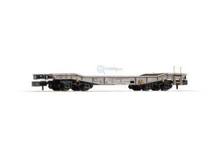 N - Plošinový vůz Slmmps ,,Volker Rail,, / PIKO 40701