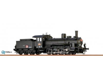 ARCHIV H0 - Parní lokomotiva 413.073 ČSD ANALOG / BRAWA 40736