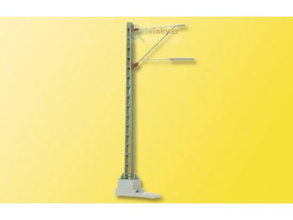 H0 - Trolejový sloup s ramenem / Viessmann 4110