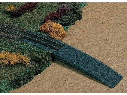 H0 - Nájezd na železniční násep z pěnové hmoty / Auhagen 41198