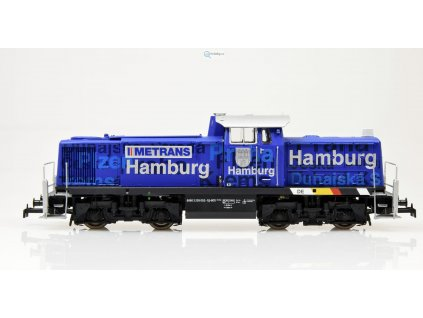 H0 - lokomotiva ř.295 'Hamburg', Metrans, verze Basic+ / BRAWA 41534
