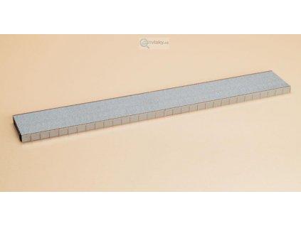 H0 - Nástupiště 206 x 60 x 11 mm, rozteč 102mm / Auhagen 41610