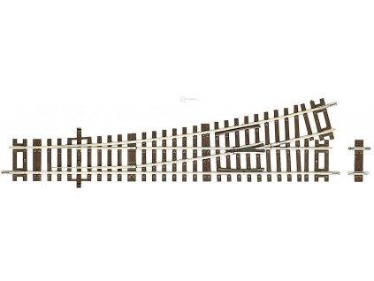 H0 - Roco line výhybka vlevo WL15 230mm, R 873,5mm 15° / ROCO 42440