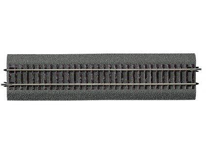 357250 h0 rovna kolej g1 230 mm s gumovym podlozim roco 42510