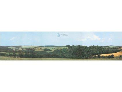 H0/TT - Pozadí fototapeta - prodloužení Krušné hory 198 x 47 cm / 42512 AUHAGEN