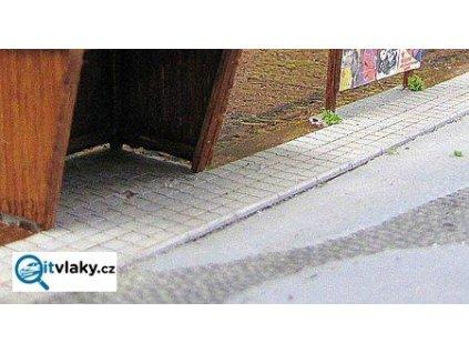 H0 - Chodník s obrubníky / JM Detail  432007