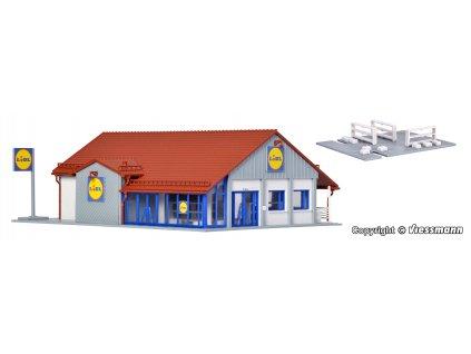 H0 - Supermarket ''Lidl'' / Vollmer 43662