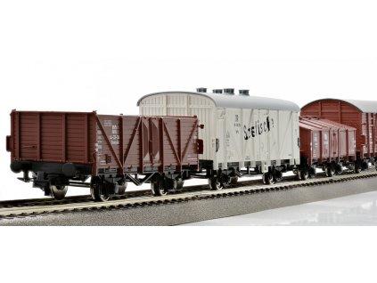 H0 - Set osmi nákladních vozů, DB / ROCO 44002