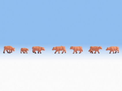 Z - Hnědé krávy / Noch 44252