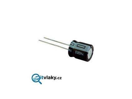 Elektrolytický kondenzátor 330uF 25V, 10X12 RM5 / Conrad 445489