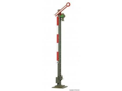 H0 - Mechanické návěstidlo, jednoramenné, úzký stožár / Viessmann 4530