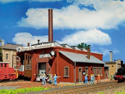 H0 - Tovární budova ''Werner'' / Vollmer 45590