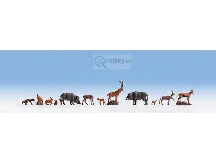 TT - Lesní zvířata 9ks / NOCH 45745