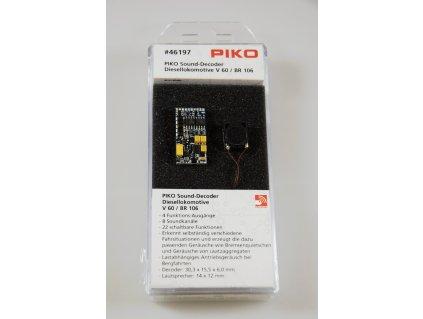 SLEVA! TT - zvukový lokodekodér a repro pro V 60 - BR 106/ PIKO 46197