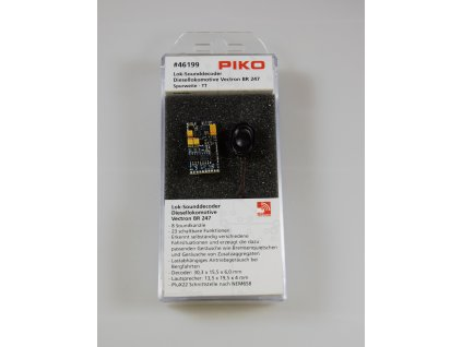 SLEVA! TT - zvukový lokodekodér a repro pro Diesel Vectron 193/ PIKO 46199