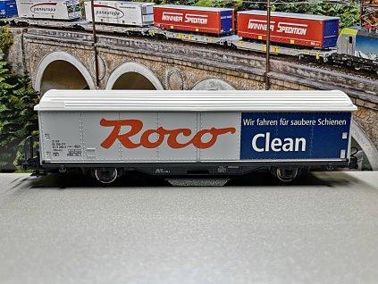H0 - čistící vůz ROCO clean / ROCO 46400