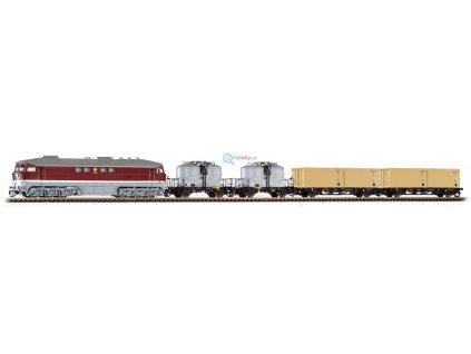 TT - set  lokomotiva BR 130 + 4 vozy DR / PIKO 47010