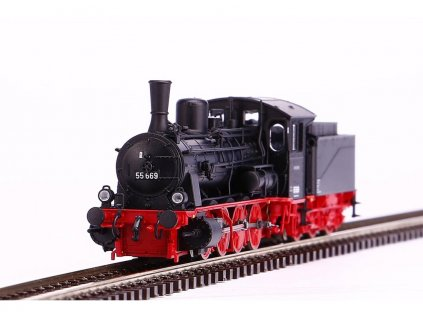 TT - parní lokomotiva BR 55 DR / PIKO 47100