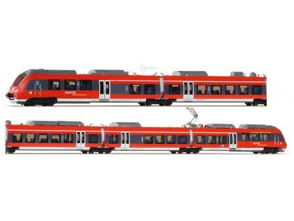TT - jednotka ř.442 Talent 2 VBB, 5-dílná Franken-Thüringen /Piko 47242
