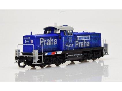 "TT - Dieselová lokomotiva 295 ""Metrans"" CZ / PIKO 47265"