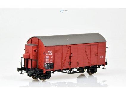 H0 - krytý nákladní vůz Zr ČSD / Brawa 47942