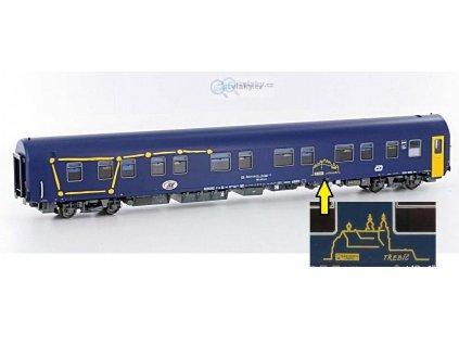 H0 - lůžkový vůz WLABmz 173 UNESCO, Třebíč / LS Models 48039