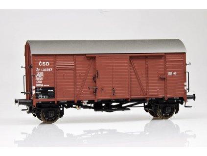 H0 - krytý vůz Gms 30  ČSD / Brawa 48837