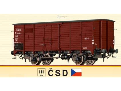H0 - krytý nákladní vůz Z ČSD / Brawa 49067