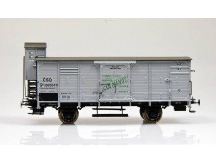 """H0 - krytý nákladní vůz Gg """"Cosmanos"""" ČSD / Brawa 49092"""