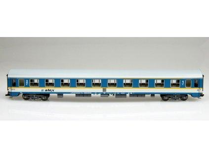 """TT - rychlíkový vůz 1./2. třídy Abvmz """"alex"""", RBG   / Tillig 501634"""